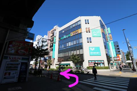 葛西駅からの行き方・きらぼし銀行葛西支店