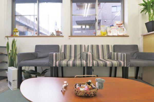 院内・待合室・椅子