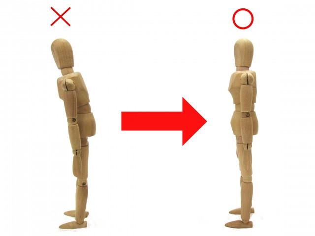 前かがみの姿勢も腰痛の原因になります